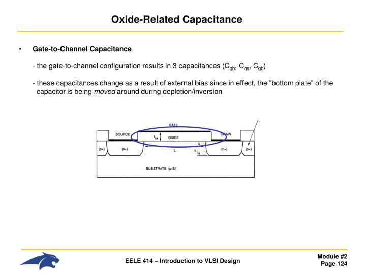 Oxide-Related Capacitance
