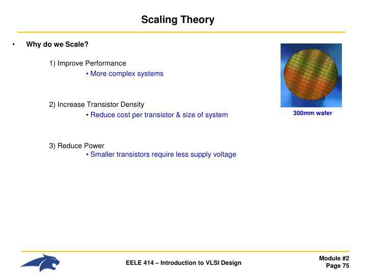Scaling Theory