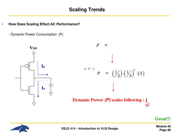 How Does Scaling Effect AC Performance?