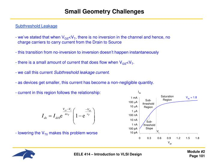 Small Geometry Challenges