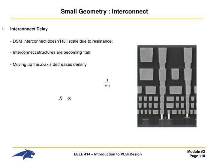 Interconnect Delay