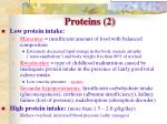 proteins 2