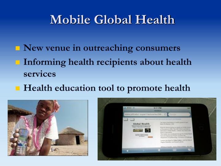 Mobile Global Health