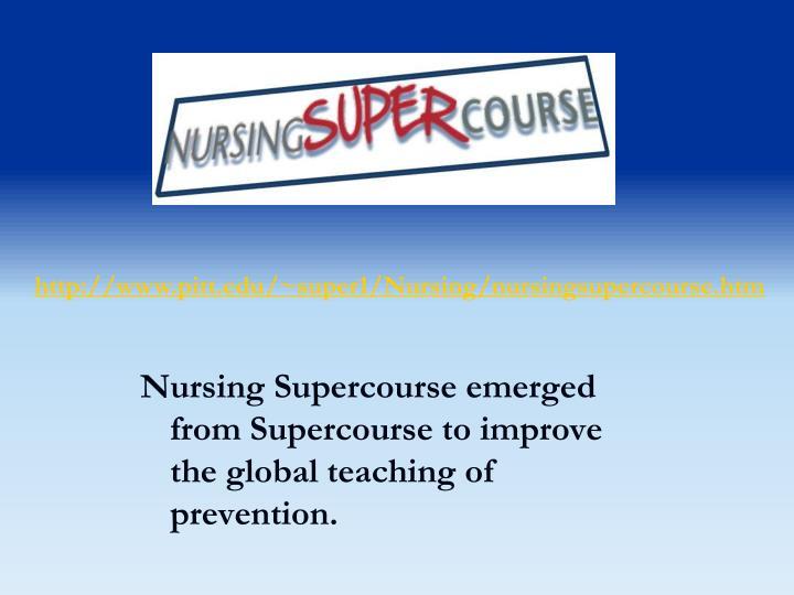 http://www.pitt.edu/~super1/Nursing/nursingsupercourse.htm
