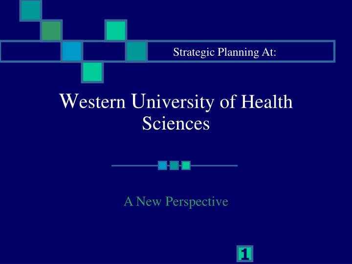 W estern u niversity of health sciences
