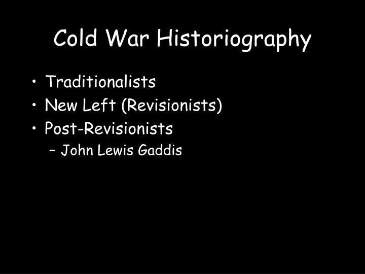 Cold War Historiography