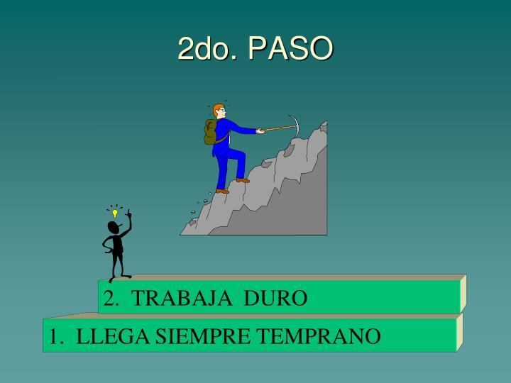 2do. PASO