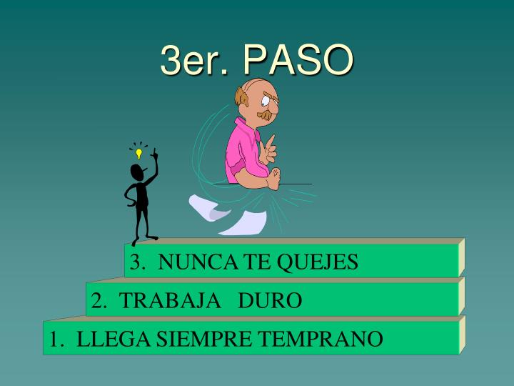 3er. PASO