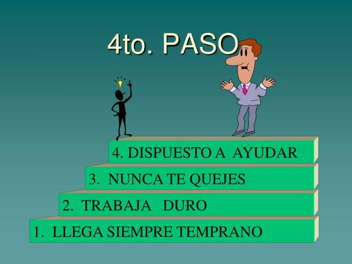 4to. PASO