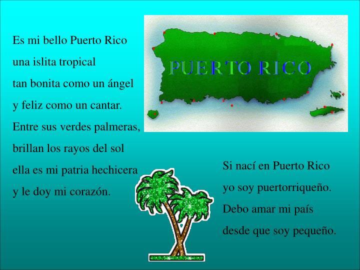 Es mi bello Puerto Rico