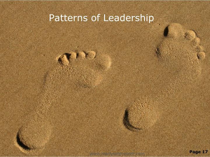 Patterns of Leadership