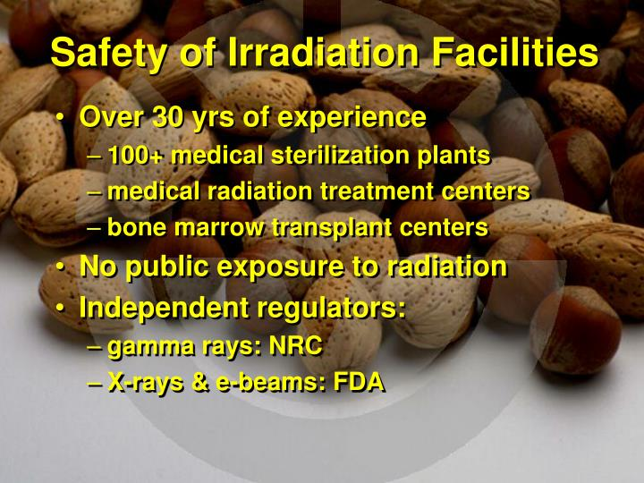 Safety of Irradiation Facilities