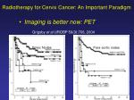 radiotherapy for cervix cancer an important paradigm4