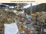controllo di qualit sui rifiuti cartacei