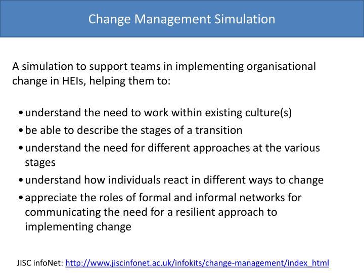 Change Management Simulation