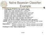 na ve bayesian classifier example
