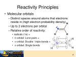 reactivity principles1