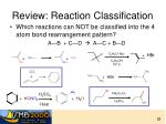 review reaction classification1