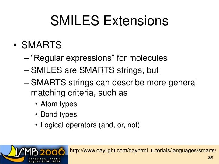 SMILES Extensions