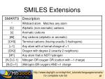 smiles extensions3