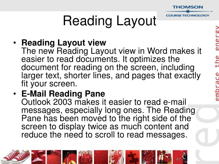 Reading Layout