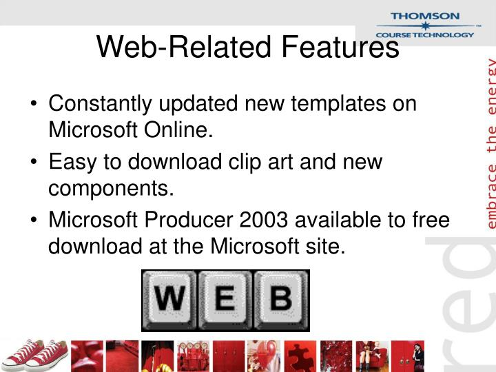 Web-Related Features