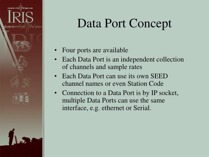 Data Port Concept