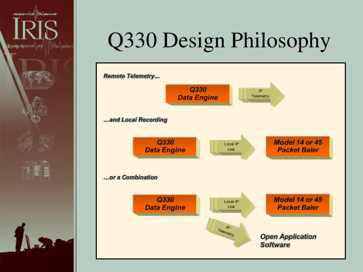 Q330 Design Philosophy