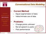 conversational data modeling