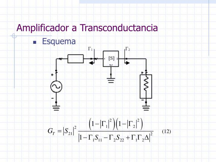 Amplificador a Transconductancia