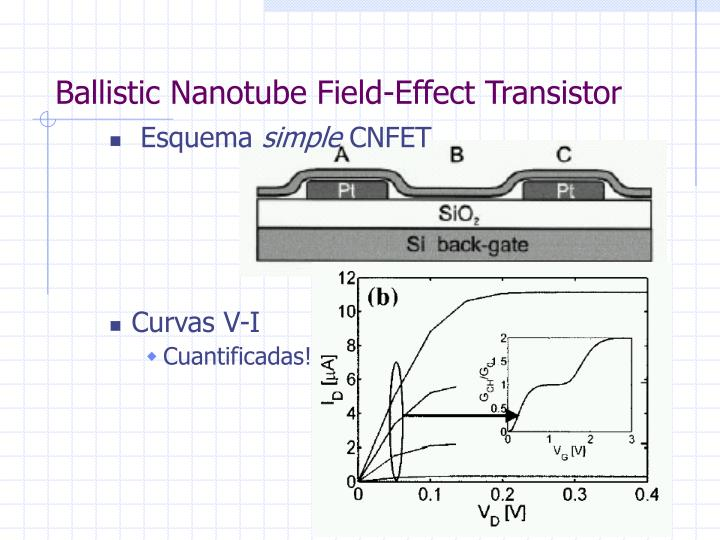 Ballistic Nanotube Field-Effect Transistor