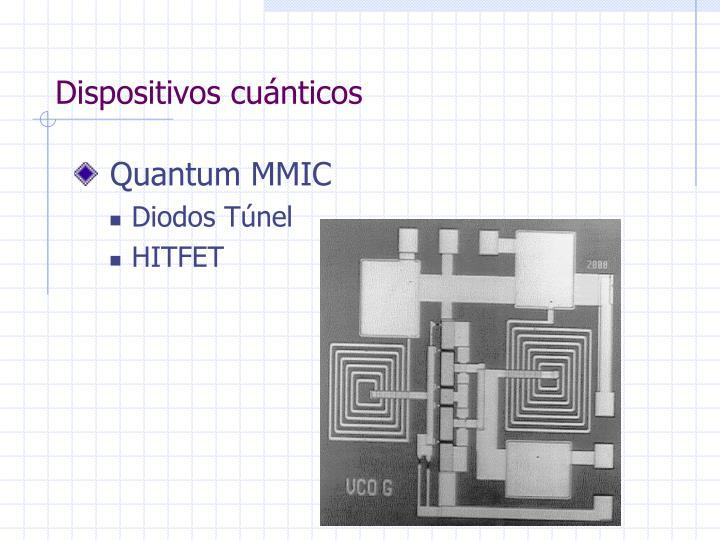 Dispositivos cuánticos
