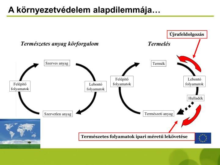 A környezetvédelem alapdilemmája…