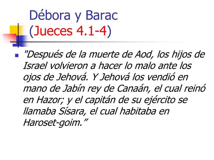 Débora y Barac