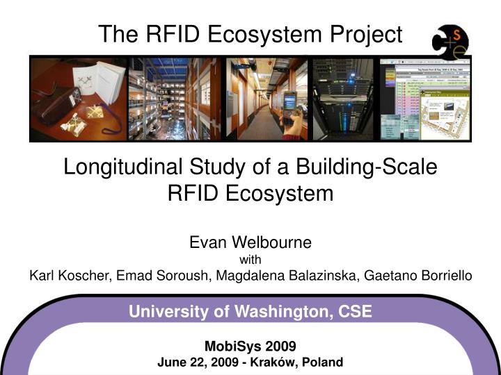 The RFID Ecosystem Project