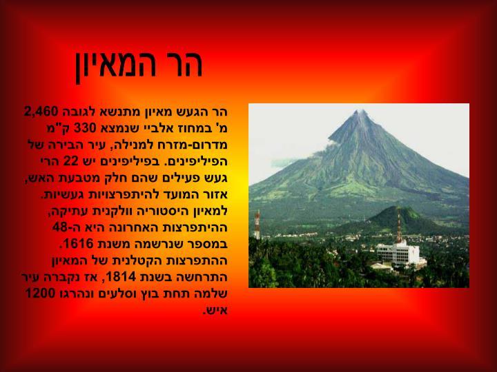 הר המאיון
