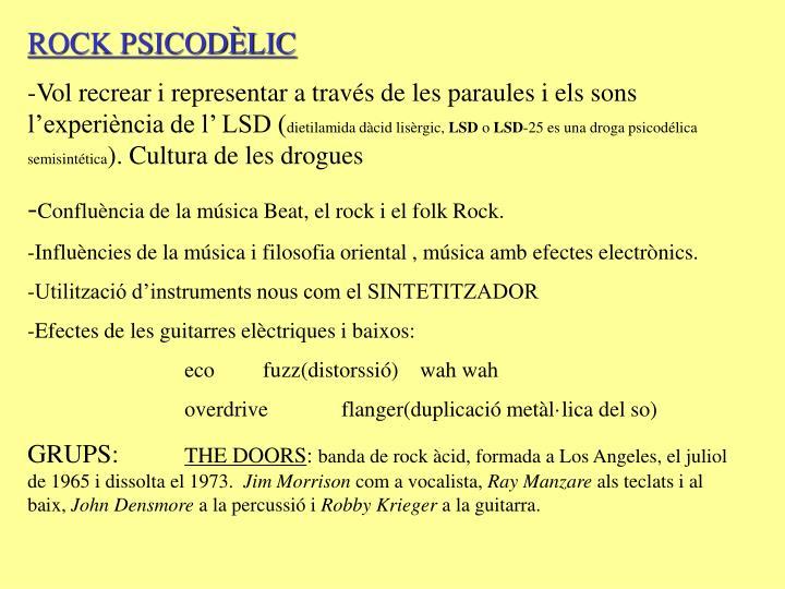 ROCK PSICODÈLIC