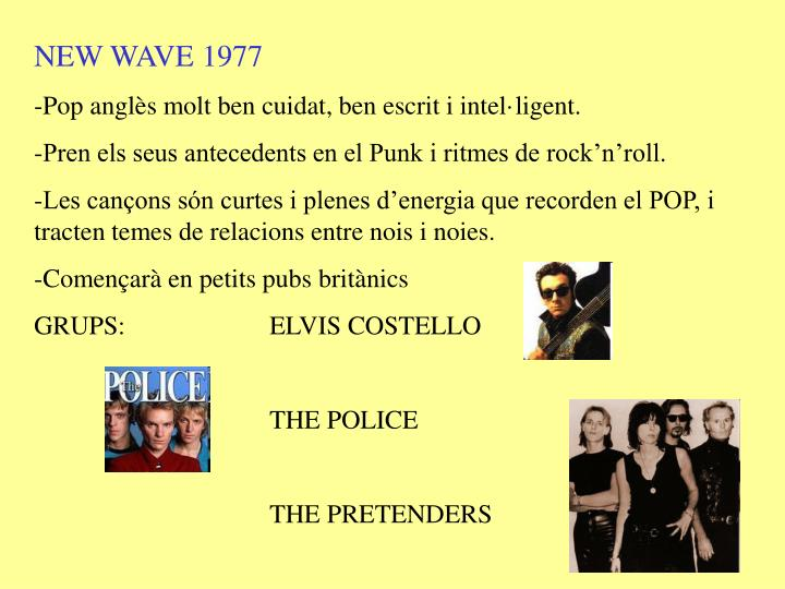 NEW WAVE 1977