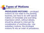 types of motions2