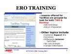 ero training1