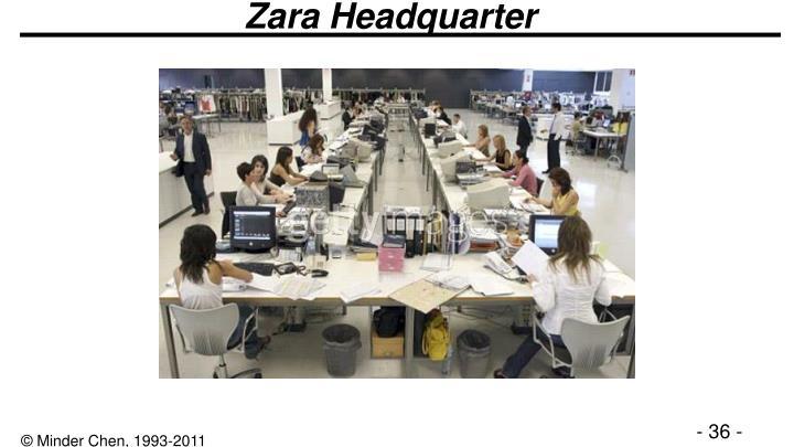Zara Headquarter