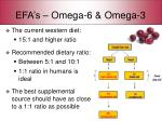 efa s omega 6 omega 3