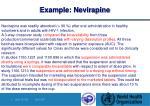 example nevirapine