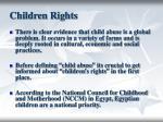 children rights