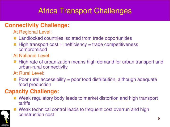 Africa Transport Challenges