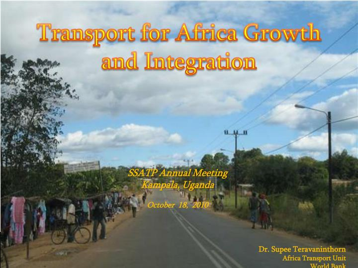 Transport for Africa Growth