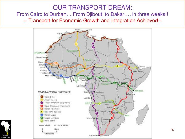 OUR TRANSPORT DREAM:
