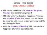 ethics the basics utilitarian ethics28