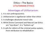 ethics the basics utilitarian ethics36