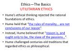 ethics the basics utilitarian ethics4